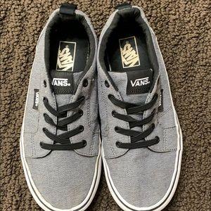 Vans gray youth sneakers